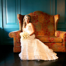 Bride and Settee