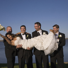 Holding the Bride