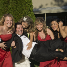Holding the Groom