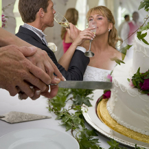 Couple and Cake